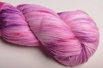 Image of Sweet Georgia Tough Love Sock Yarn Raspberry Swirl
