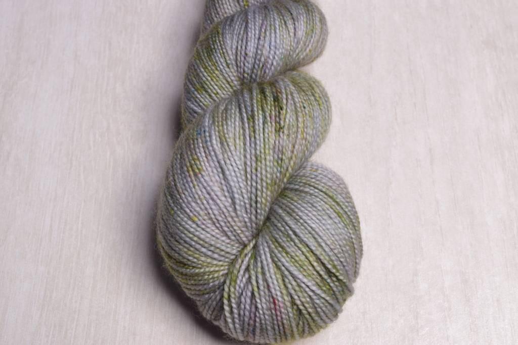 Image of Brew City Yarns Premium Draft Sock Hallow's Grey, Slytherin