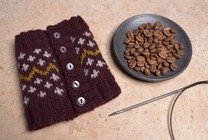 Image of Steeked Coffee Cozy Class, Wednesday, June 27, July 11;  6:00-8:00PM