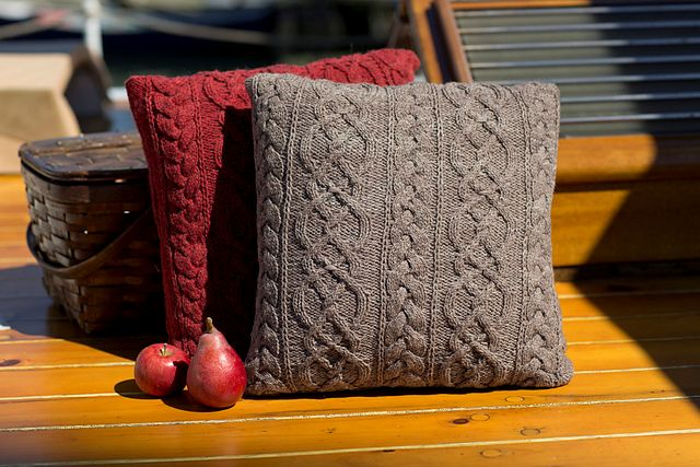 Wool & Co. Feature Pattern of the Week - Rangeley Pillow