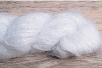 Image of Blue Sky Fibers Brushed Suri 908 Snow Cone