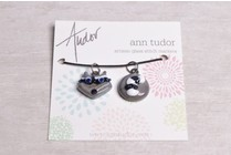 Image of Ann Tudor Stitch Markers, Raccoon Head & Tail, Extra Small