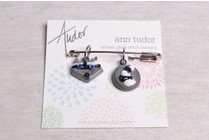 Image of Ann Tudor Stitch Markers, Raccoon Head & Tail, Small