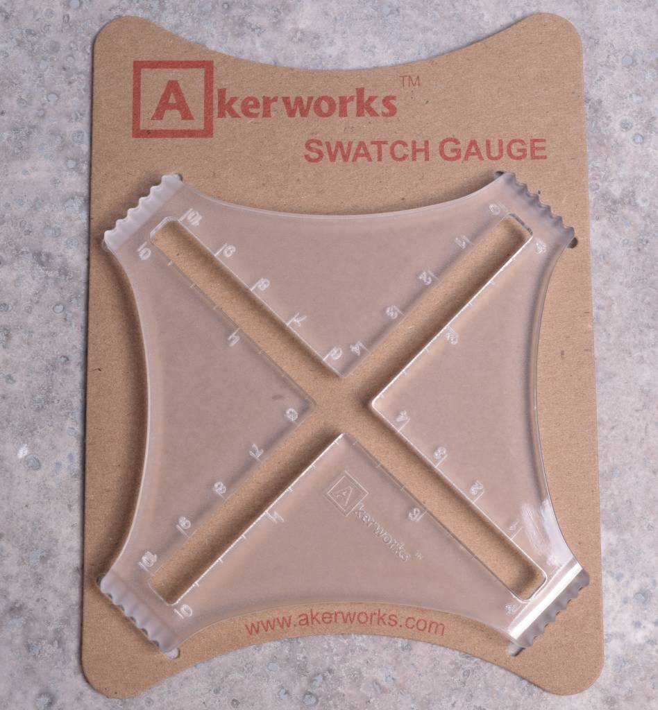 Image of Akerworks Swatch Gauge
