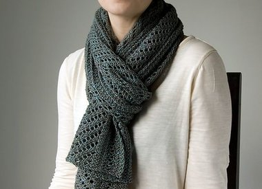 Wool & Co. Feature Pattern of the Week - Boiseau Wrap