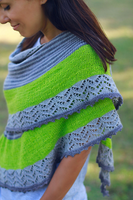 Image of 3 Color Cashmere Shawl