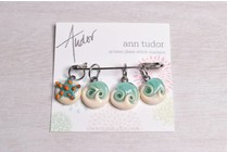 Image of Ann Tudor Stitch Markers, Seaside, Small
