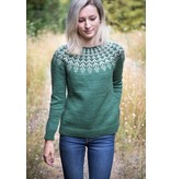 Image of Fern & Feather Sweater, Wednesday, January 2, 9, 23, February 13;  6:00-8:00PM
