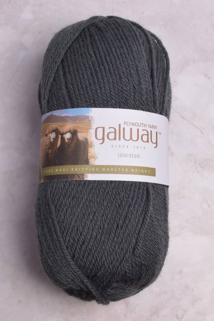 Image of Plymouth Galway Worsted 203 Charcoal (Discontinued)