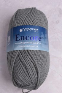 Image of Plymouth Encore Worsted 463 Purl Grey