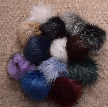 New Faux Fur Pom Pom Colors for Autumn 2018