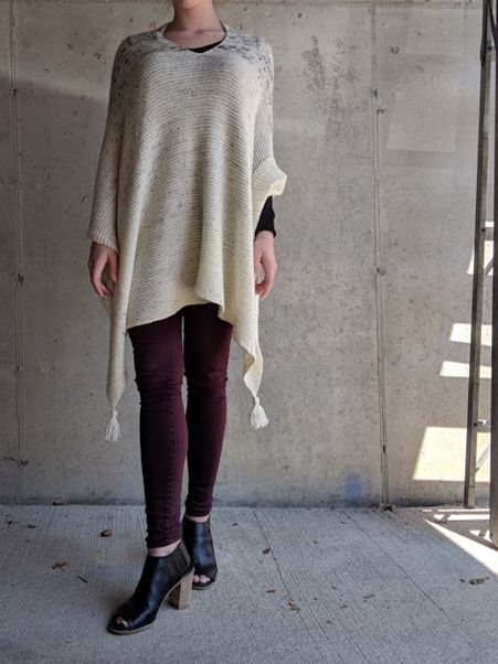 Wool & Co. Feature Pattern of the Week - Wayfarer Poncho