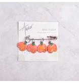 Image of Ann Tudor Stitch Markers, Pumpkins, Small