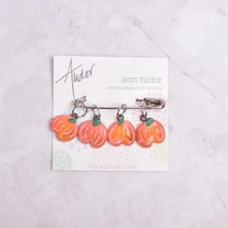 Image of Ann Tudor Stitch Markers, Pumpkins, Small