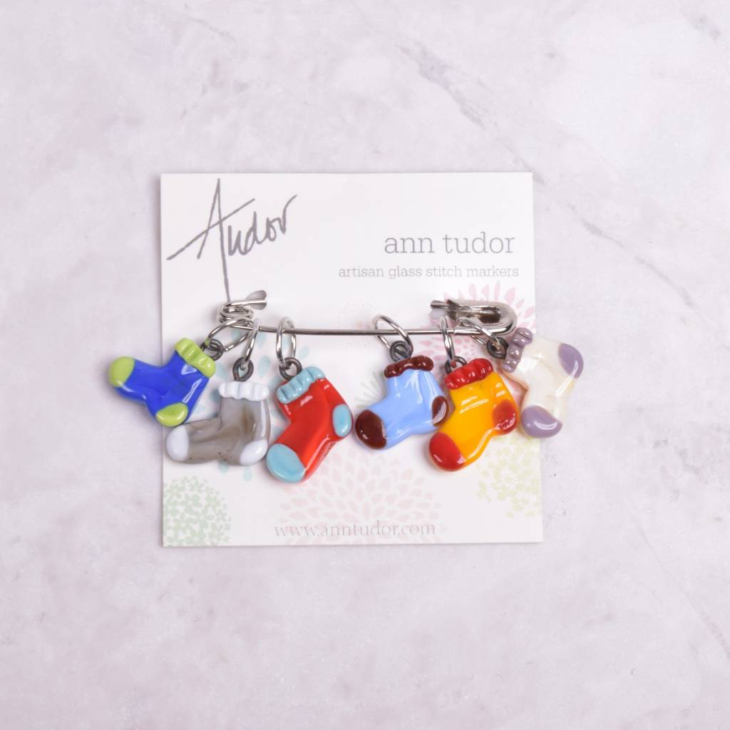Image of Ann Tudor Stitch Markers, Socks, Small