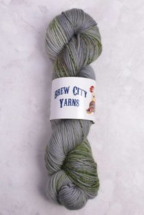 Image of Brew City Yarns Impish DK Hallow's Green Slytherin