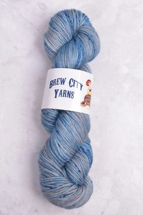 Image of Brew City Yarns Impish DK Hallow's Grey Ravenclaw