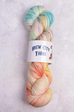 Image of Brew City Yarns Impish DK Tiger Lily