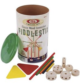 ALEX BRANDS FIDDLESTIX CLASSIC WOOD CONNECTOR SET 68 PC