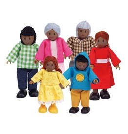 HAPE DOLLHOUSE FAMILY AFRICAN AMERICAN