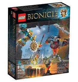 LEGO MASK MAKER VS SKULL GRINDER*
