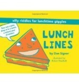 CHRONICLE PUBLISHING LUNCH LINES RIDDLES PB SIGNER