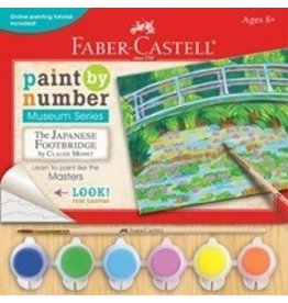 FABER CASTELL PAINT BY NUMBER JAPANESE FOOTBRIDGE*