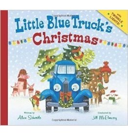 HOUGHTON MIFFLIN LITTLE BLUE TRUCK CHRISTMAS HB SCHERTLE