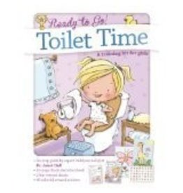 BARRONS READY TO GO TOILET TIME TRAINING BOOK KIT GIRLS