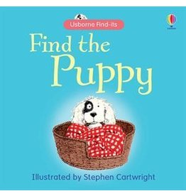 EDC PUBLISHING FIND THE PUPPY BB USBORNE