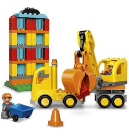 LEGO BIG CONSTRUCTION SITE DUPLO