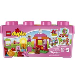 LEGO DUPLO ALL IN  ONE PINK BOX OF FUN*