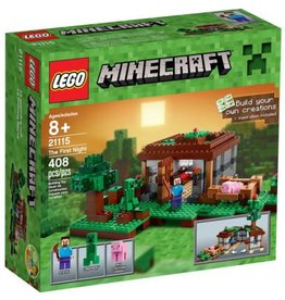 LEGO THE FIRST NIGHT MINECRAFT*