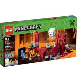 LEGO THE NETHER FORTRESS MINECRAFT