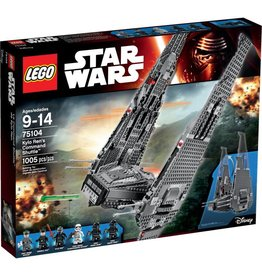 LEGO KYLO REN'S COMMAND SHUTTLE