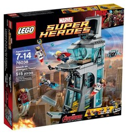 LEGO ATTACK ON AVENGERS TOWER*