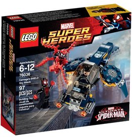 LEGO CARNAGE'S SHIELD SKY ATTACK*