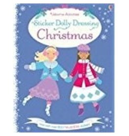 EDC PUBLISHING STICKER DOLLY DRESSING CHRISTMAS