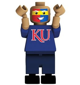 OYO SPORTSTOYS FAN FACE KU JAYHAWKS**