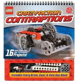KLUTZ LEGO CRAZY CONTRAPTION KLUTZ