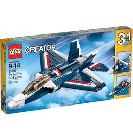 LEGO BLUE POWER JET*