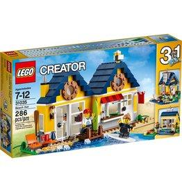 LEGO BEACH HUT**