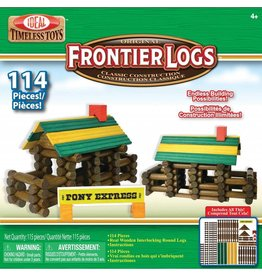 ALEX BRANDS FRONTIER LINCOLN LOGS 114 PC*