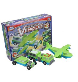 POPULAR PLAYTHINGS MAGNETIC MIX OR MATCH VEHICLES #3
