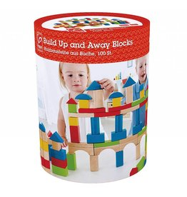 HAPE BUILD UP AND AWAY BLOCKS 100 PC