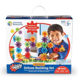 EDUCATIONAL INSIGHTS 100 PIECE DELUXE BUILDING GEAR SET