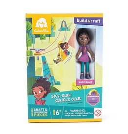 GOLDIEBLOX RUBY'S SKY-HIGH CABLE CAR GOLDIEBLOX