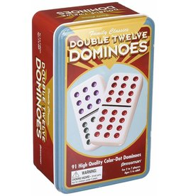 PRESSMAN DOUBLE 12 COLOR DOMINOES