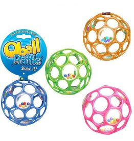 TOYSMITH OBALL  RATTLE BRIGHT COLORS RATTLE
