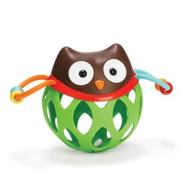 SKIP HOP ROLL AROUND OWL RATTLE